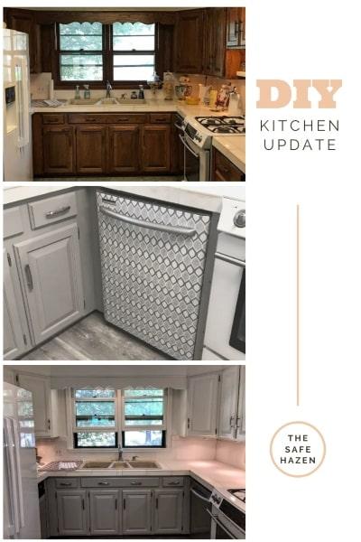 Diy Kitchen Cabinet Makeover The Safe Hazen